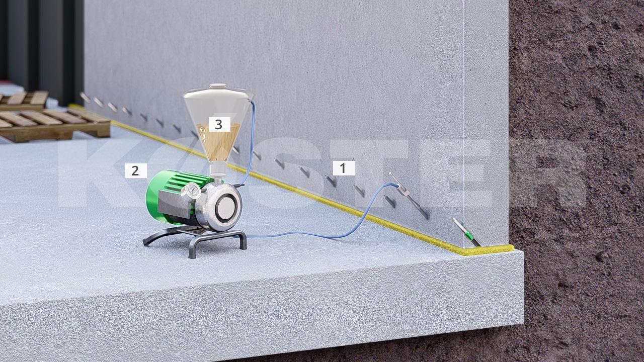 оборудование для инъектирования кирпичной кладки